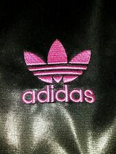 Adidas Chile 62 Black Pink Stripe M Tracksuits Sweats Fitness Running Polyester