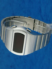 Rare old style modern futuristic 70s seventies space age mens led l.e.d watch 11