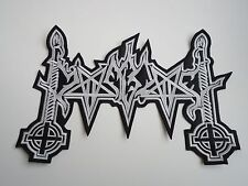 MOONBLOOD BLACK METAL EMBROIDERED BACK PATCH
