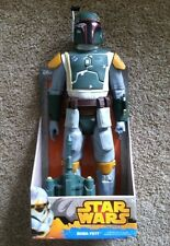 "Star Wars Boba Fett 18"" Action Figure Black Series Bob Fett Boba Fett Blaster"
