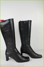 Bottes Confort Cuir Noir Made in Italy T 38 TBE