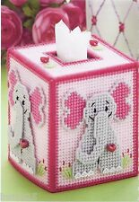 **ELEPHANT TISSUE COVER TO STITCH*PATTERN ONLY*PLASTIC CANVAS PATTERN**