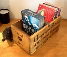 Hogwarts School Head Boy. Harry Potter inspired. Book and DVD storage crate