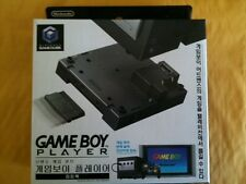 "NEW GAMECUBE Gameboy Player Black Boxed with Korean Startup CD DOL-A-GPK""KOR"""