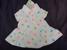NEW Carters Baby Girl Polka Dot Romper  Set~ 3 month size