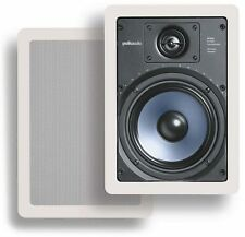 New!! Polk Audio RC-65i In-Ceiling Speakers (Pair) Use as Mains or Surrounds!!