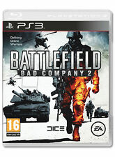 BATTLEFIELD: BAD COMPANY 2 (SONY PLAYSTATION 3, 2010) Spedizione Gratuita UK