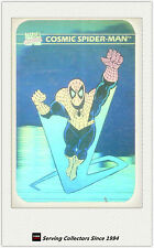 1990 Marvel Comics Hologram Trading Card MH1: Comic Spiderman