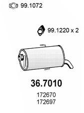 MARMITTA TERMINALE PEUGEOT 106 1.0 - 1.1 172697
