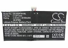 C12P1305 Tablet Battery for ASUS Transformer TF701T, K00C, TF701T