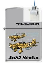 Zippo 250 JU87 Stuka German WW2 Lighter & Z-PLUS INSERT BUNDLE