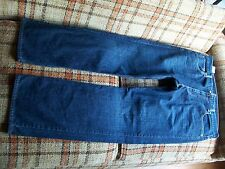 Levis Mens 569 Size 36x34 Loose Straight Jeans Dark Wash