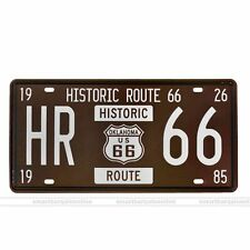 Route 66 Vintage Metal sign Tin Wall Art Poster Home Garage Pub Bar decoration