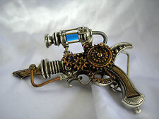 Alchemy Steampunk Empire Remington Inducer Pewter Glass Belt Buckle B92