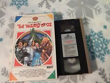 The Wizard of Oz (VHS) Viddy Oh! BIG BOX_CLAM SHELL (FREE SHIP.) JUDY GARLAND