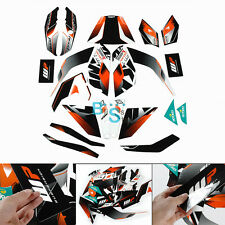 Full Custom Decals Graphics Stickers Vinyl Set For KTM DUKE 125 200 390 O1