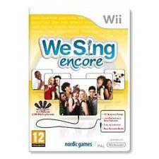 Nintendo Wii Spiel We Sing encore Vol. Volume 2 II mit 30 Liedern Neu