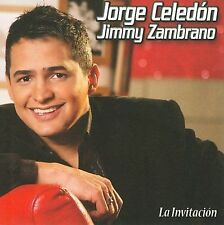 JORGE CELEDON - La Invitacion CD ** BRAND NEW : STILL SEALED **