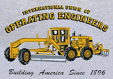 Blade / Motor Grader Operating Engineers T-Shirt that is Made in the USA