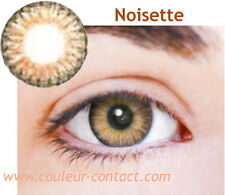 LENTILLE DE COULEUR NOISETTE COLOR LENS VERRE CONTACT REGARD FANTAISIE 3 MOIS