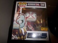 funko pop tyrant resident evil hot topic exclusive video games