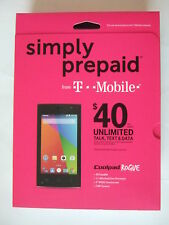 BRAND NEW Retail Sealed package T-Mobile COOLPAD ROGUE phone Simply Prepaid
