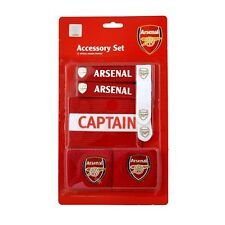 ARSENAL FC ACCESSORIES PACK INCLUDING CAPTIANS ARMBAND