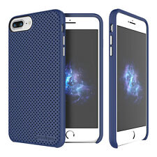 "Prodigee Breeze Navy Blue iPhone 7 PLUS 5.5"" Dual Layer Thin Case Slim Cover"