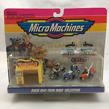 Vintage Biker Mice From Mars Collection #1 MicroMachines Galoob 1993 New