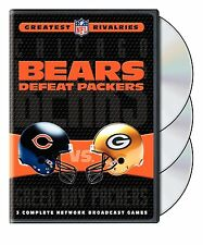 NFL Greatest Rivalries Chicago Bears Defeat Green Bay Packers 3er [DVD] NEU