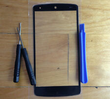 Front Touch Screen Outer Glass Lens + Tools For LG D820 Google Nexus 5