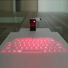 Mini Portable Laser Virtual Projection Keyboard And Mouse To For Tablet Pc NEW L