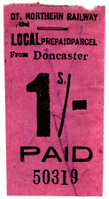 (I. B) GREAT Northern Railway: locale pacco 1/- (Doncaster)