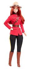 New Barbie Dolls Of The World CANADA ROYAL CANADIAN MOUNTED POLICE