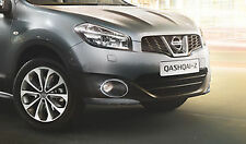 Nissan Qashqai / +2 original del coche DELANTERO foglight Luz Antiniebla Cromado Anillos X2 ke5401f080