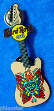 ONLINE TATTOO GUITAR SERIES WOLFMAN HEAD FLAMES GUITAR Hard Rock Cafe PIN LE