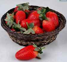 Strawberry 10 Artificial Fake Food Fruit Strawberry i