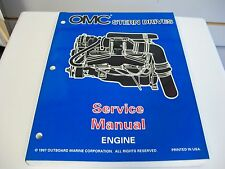 USED OMC STERN DRIVES SERVICE MANUAL ENGINE 501199
