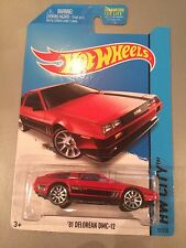 Hot Wheels HW City Series '81 Delorean DMC-12 Red (T09)