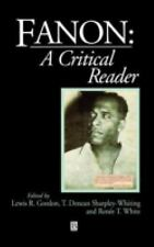 Blackwell Critical Reader: Fanon : A Critical Reader 6 (1996, Hardcover)