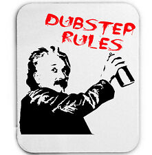 DUBSTEP RULES - MOUSE MAT/PAD AMAZING DESIGN