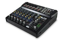 Alto ZMX122FX 8 Channel FX Audio Mixer Band Karaoke Sound System Studio Effects