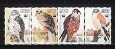 103854/ Malta 1991 - Mi 864/7 - Greifvögel / WWF - **