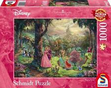 SCHMIDT DISNEY PUZZLE THOMAS KINKADE SLEEPING BEAUTY 1000 PCS #59474