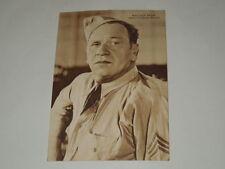 """CINEMA-CARTOLINA ANTICA ANNO 1936""""WALLACE BEERY"""" RIZZOLI E C.MILANO 1936-XV"""