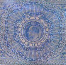 British India - KING EDWARD VII KE  - 8 Annas - Stamp Bond Paper