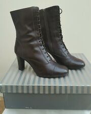 Wallis Leather Victorian/Steampunk Boots Size 6