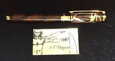 ST DUPONT VITRUVIAN MAN PRESTIGE LIMITED EDITION FOUNTAIN PEN LACQUER W GOLD