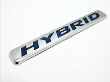 New 3D Car Auto Truck Badge Emblem Tailgate Side Sticker Hybrid Chrome