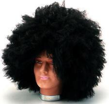Large Black Afro Wig Hendrix Fancy Dress Style